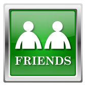 значок друзей — Стоковое фото