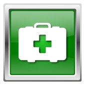Torba medyczna ikona — Zdjęcie stockowe