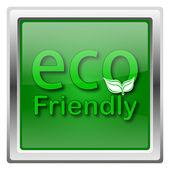 эко дружественных значок — Стоковое фото
