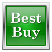 Best buy icon — Stock Photo