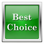 Best choice icon — Stok fotoğraf