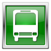 Autobus ikona — Zdjęcie stockowe
