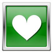 сердце значок — Стоковое фото
