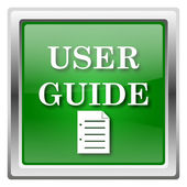 User guide icon — Stock Photo