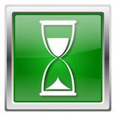 песочные часы значок — Стоковое фото