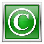 значок авторского права — Стоковое фото