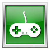 Gamepad pictogram — Stockfoto