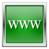 Www значок — Стоковое фото