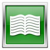 значок книги — Стоковое фото