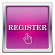 Register icon — Stock fotografie