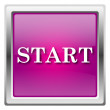 Stock Photo: Start icon