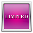 Limited icon — Foto Stock