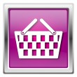 Stock Photo: Shopping basket icon