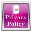 Stock Photo: Privacy policy icon