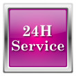 24H Service icon — Stock Photo