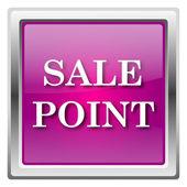 значок точки продажи — Стоковое фото