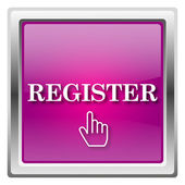 Register icon — Stock Photo