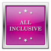 All inclusive icon — Stock Photo