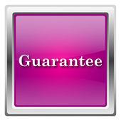 Guarantee icon — Stock Photo