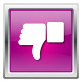 Thumb down icon — Stock Photo