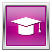 Graduation icon — Stock Photo