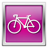 Bicycle icon — 图库照片