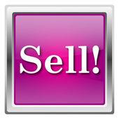 продать значок — Стоковое фото