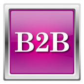B2b значок — Стоковое фото