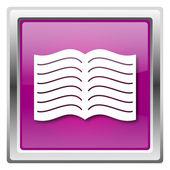 Book icon — Stock Photo