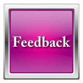 Feedback icon — Стоковое фото