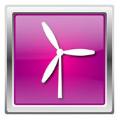 Windmill icon — Stockfoto