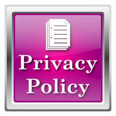 Privacy policy icon — Foto de Stock