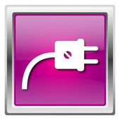 Branchez l'icône — Photo