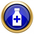 Pills bottle icon — Stockfoto #33337217