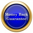 Money back guarantee icon — Stock Photo