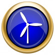 Windmill icon — Foto Stock