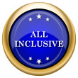 All inclusive icon — Foto Stock #33337461