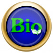 Bio icon — Stock fotografie #33337881
