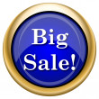 Big sale icon — Stock Photo #33338053