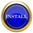 Stock Photo: Install icon