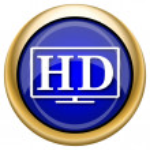 HD TV icon — Stock Photo #33338411