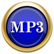 MP3 icon — Stock fotografie #33338427