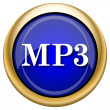 MP3 icon — Foto Stock #33338427