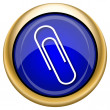 Paperclip icon — Stockfoto #33338527