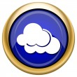 Clouds icon — Stockfoto