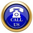 Call us icon — Foto Stock