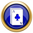 Deck of cards icon — ストック写真 #33339119