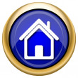 Home icon — Stockfoto #33339123