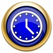 Clock icon — Stock fotografie #33339129