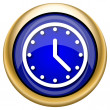 Clock icon — Foto Stock #33339129